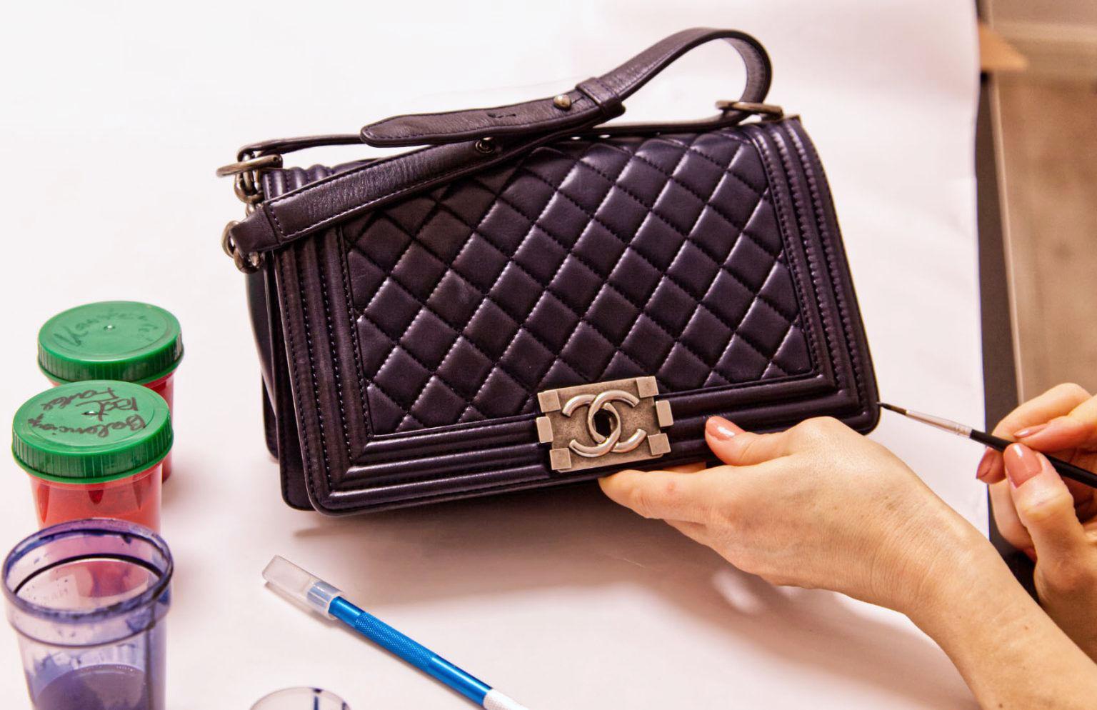 Reinigen reparieren restaurieren Ihre Handtaschen