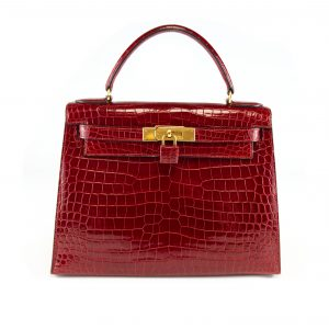 Hermès Kelly 28 Sellier Crocodile