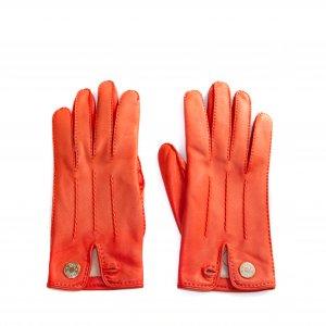 Hermès Handschuhe aus Leder Orange